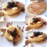 Pancakes pois chiches et amande