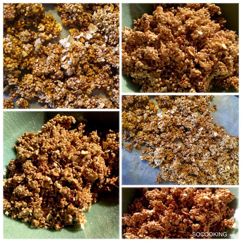 cruesli de quinoa et avoine