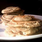Pancakes de sarrasin sans gluten ni lait