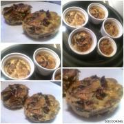 Flan champignons