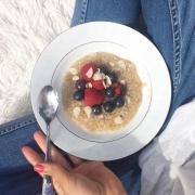 Porridge léger au son d'avoine minceur
