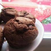 Muffins sans matières grasses ajoutés