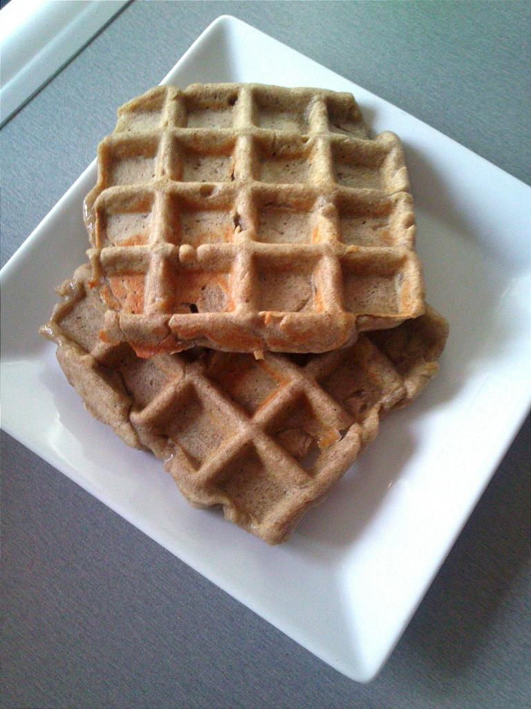 Gaufres de sarrasin sans gluten