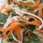 Salade vietnamienne au chou blanc