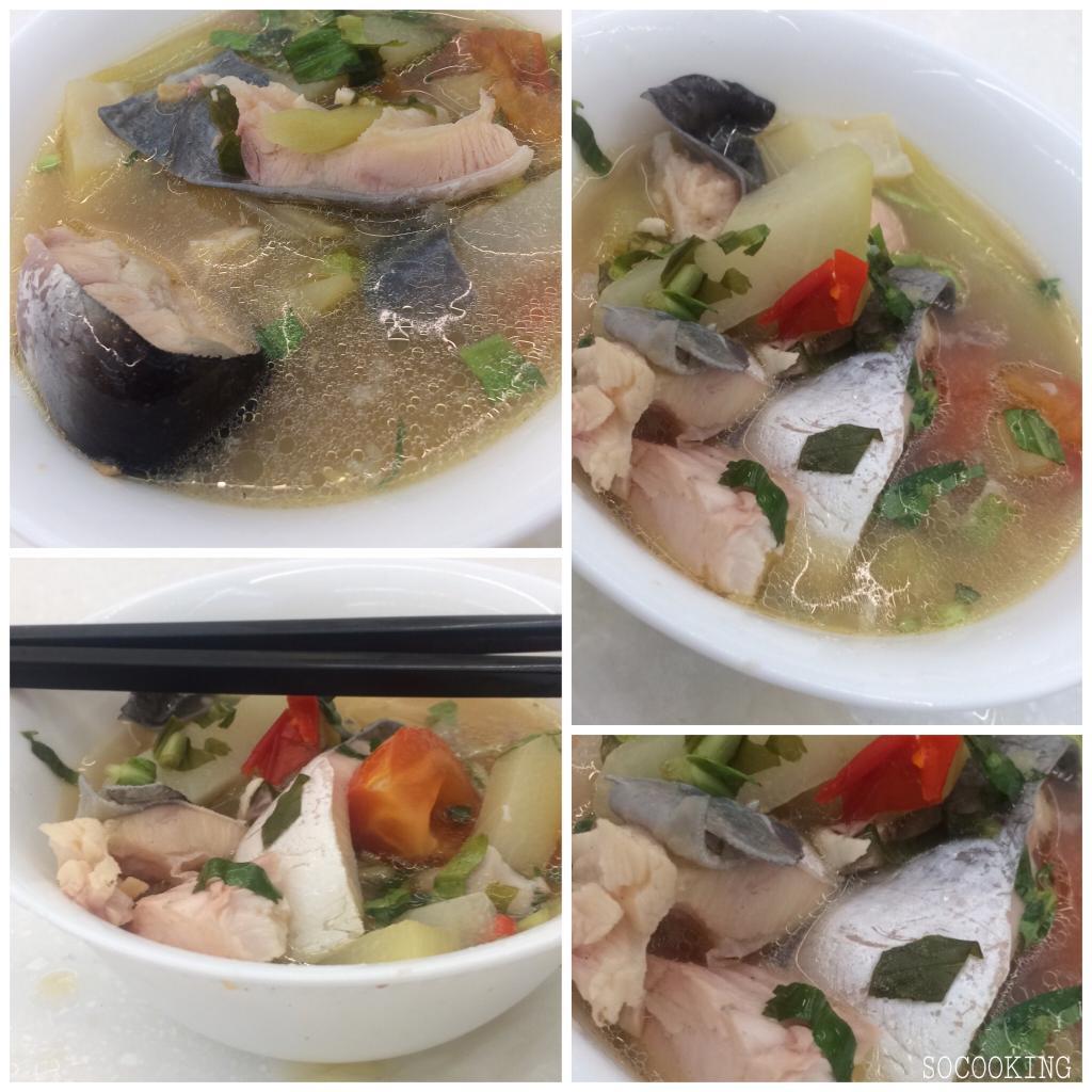 Soupe de Pangasiu acidulée au Tamarin