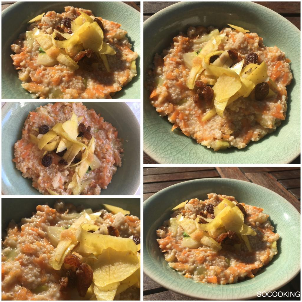 porridge carrotcake
