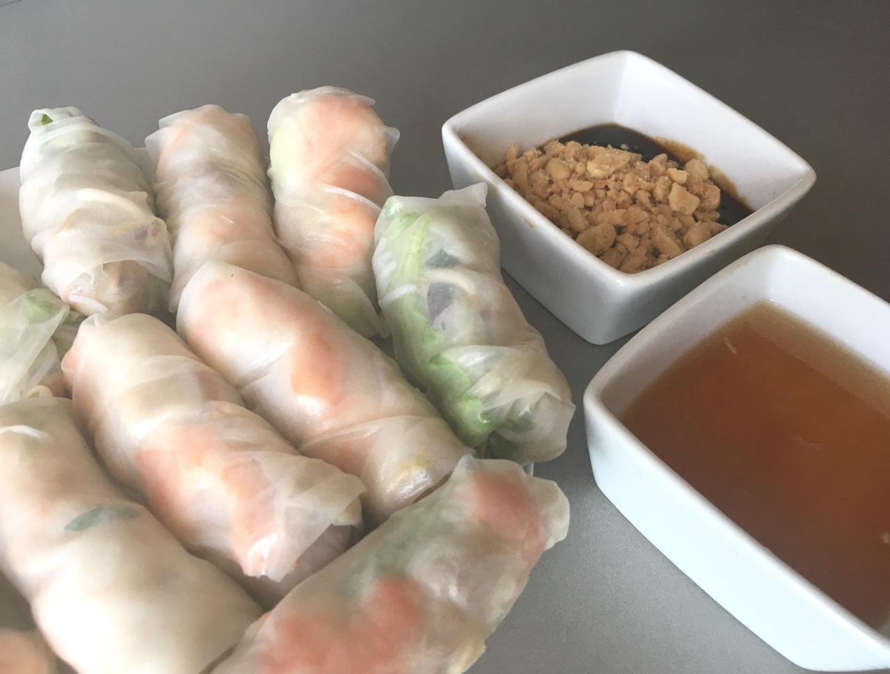 Rouleaux de printemps vietnamiens