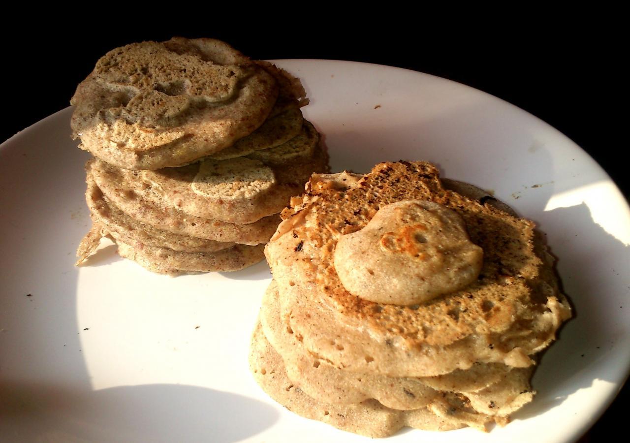 Minis crêpes sarrasin en 2 façons et variante