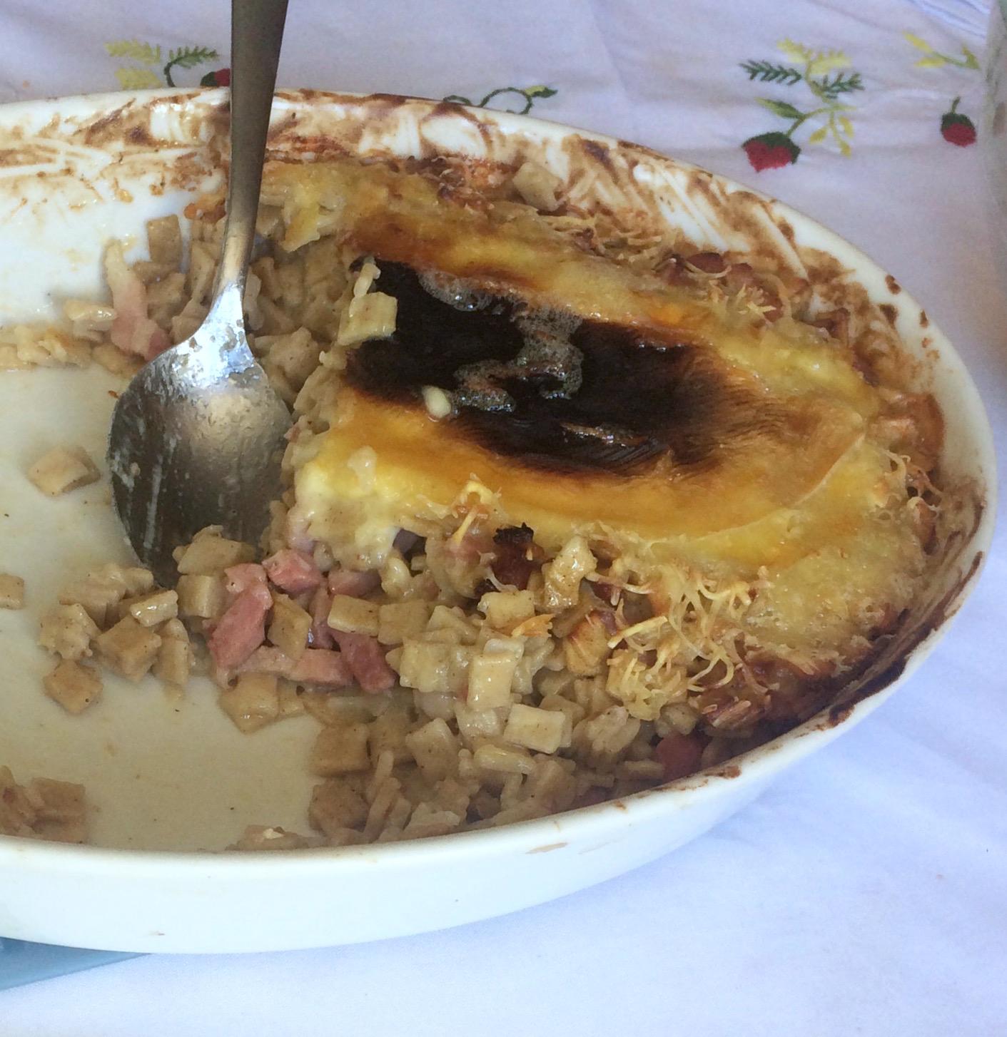 Crozets savoyard reblochon et lardonsz