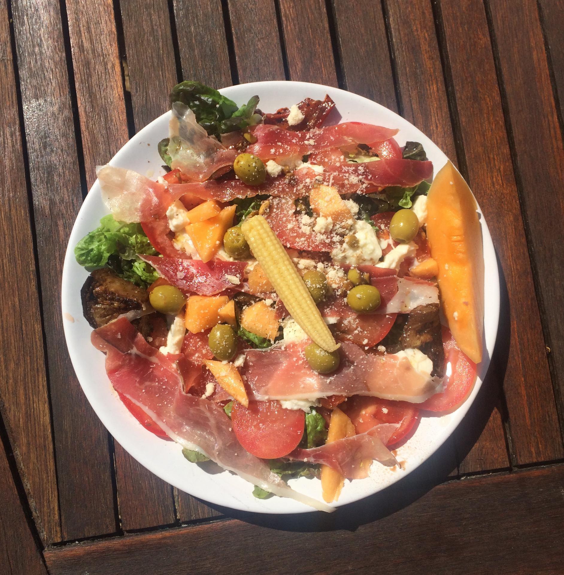Salade d'antipasti