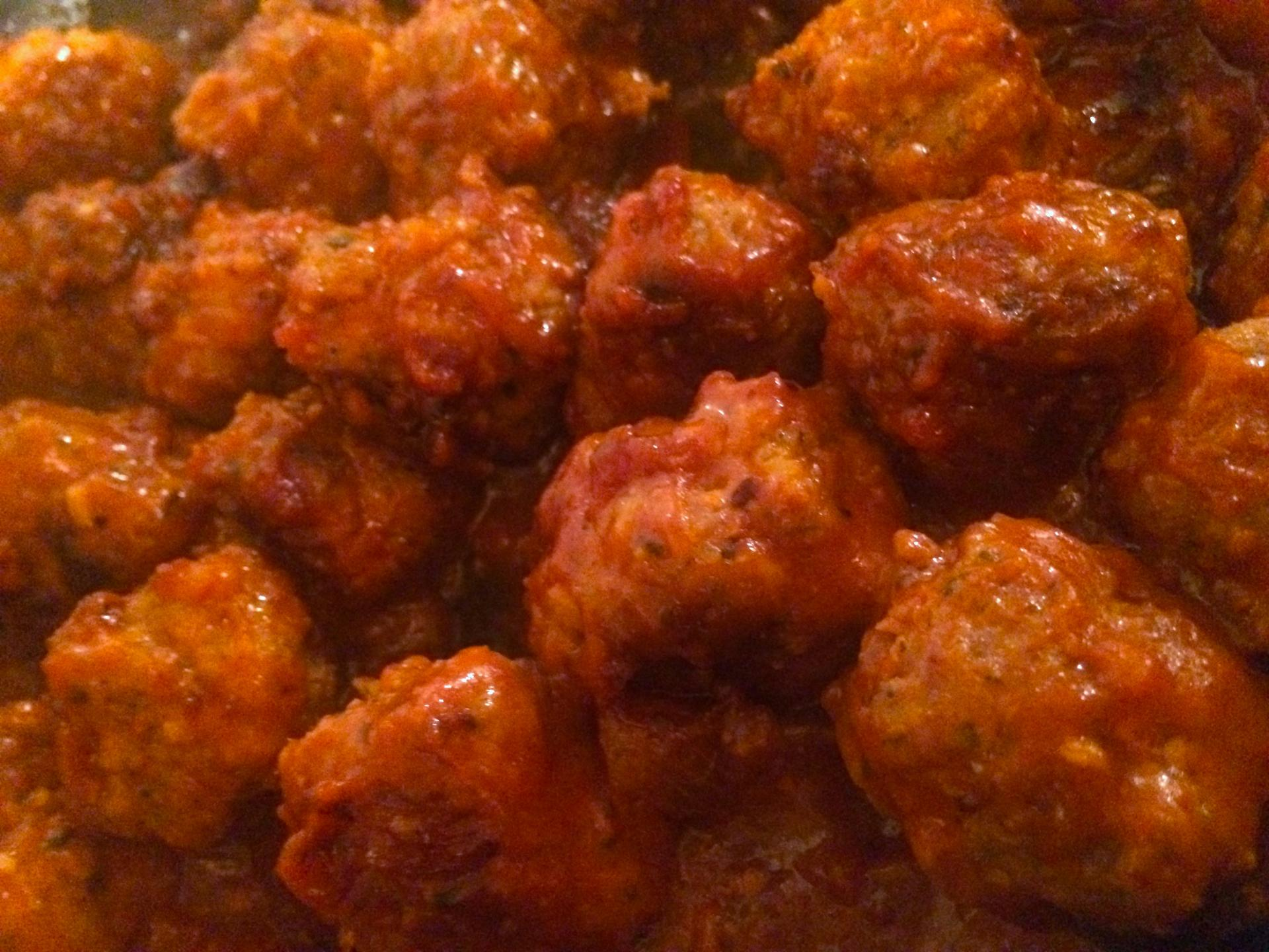 boulettes onctueuses à la sauce tomate