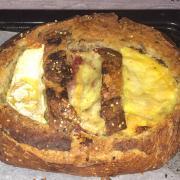 Pain à raclette 3 fromages