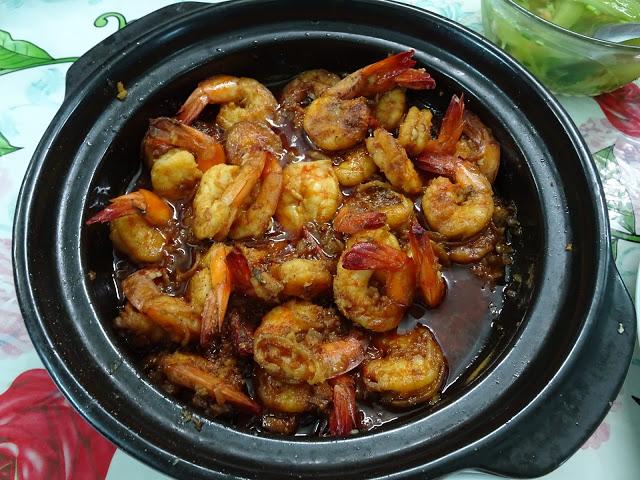 Crevettes au caramel à la vietnamienne