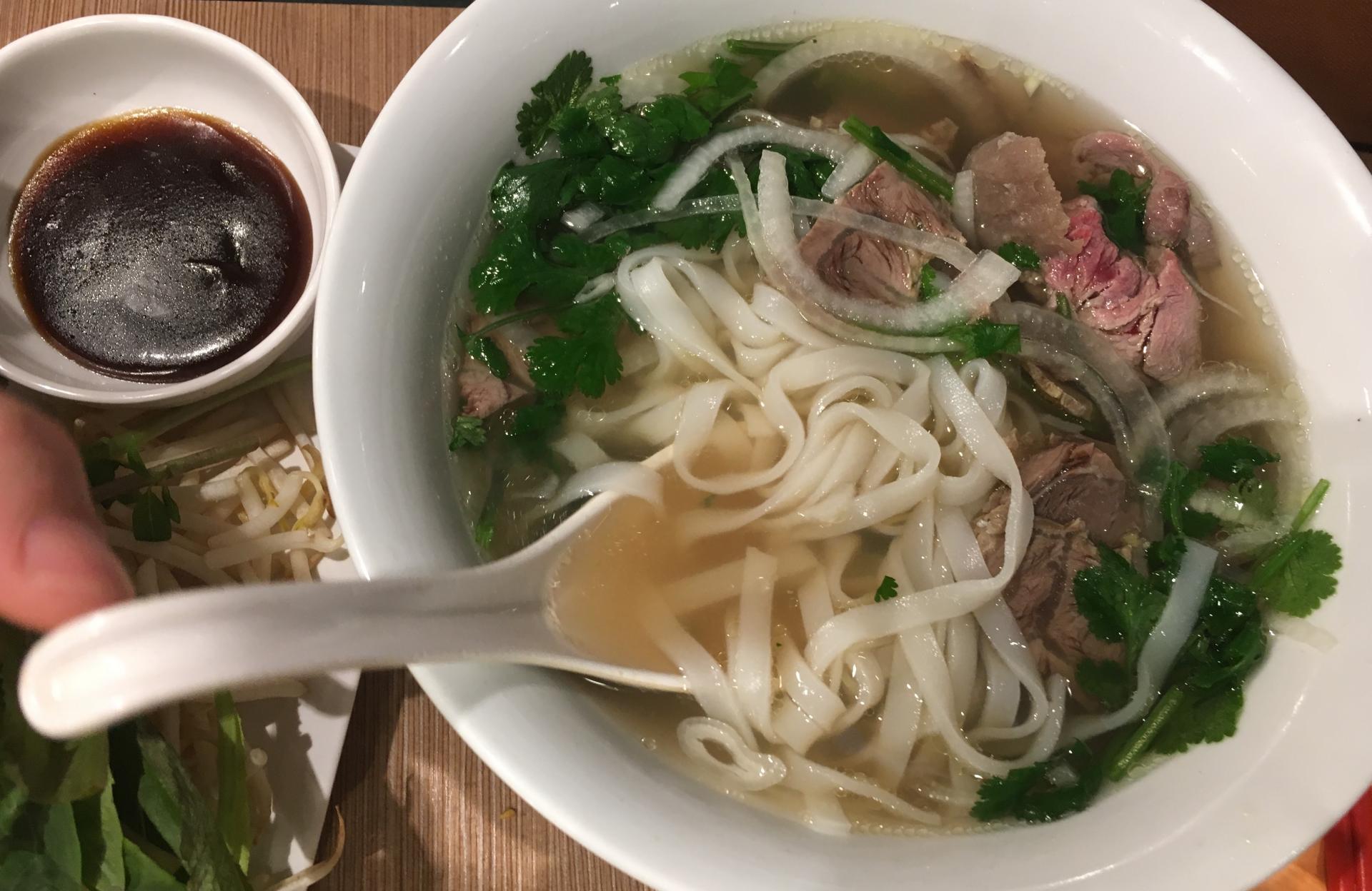 Pho Bo : soupe vietnamienne au boeuf