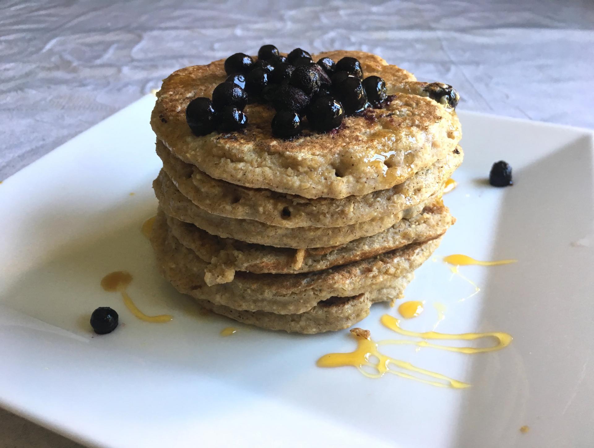 Pancakes vegan healthy 3 min