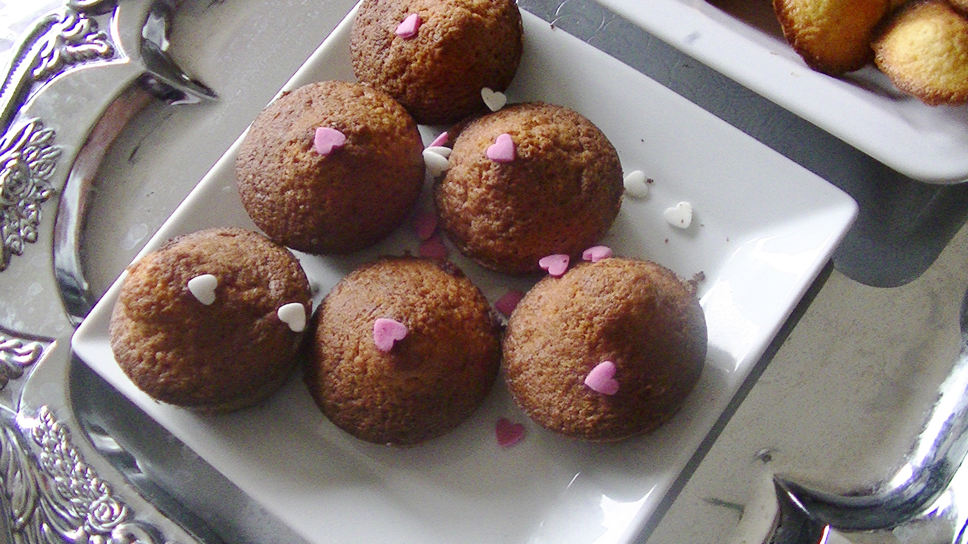 Madeleines et cupcakes