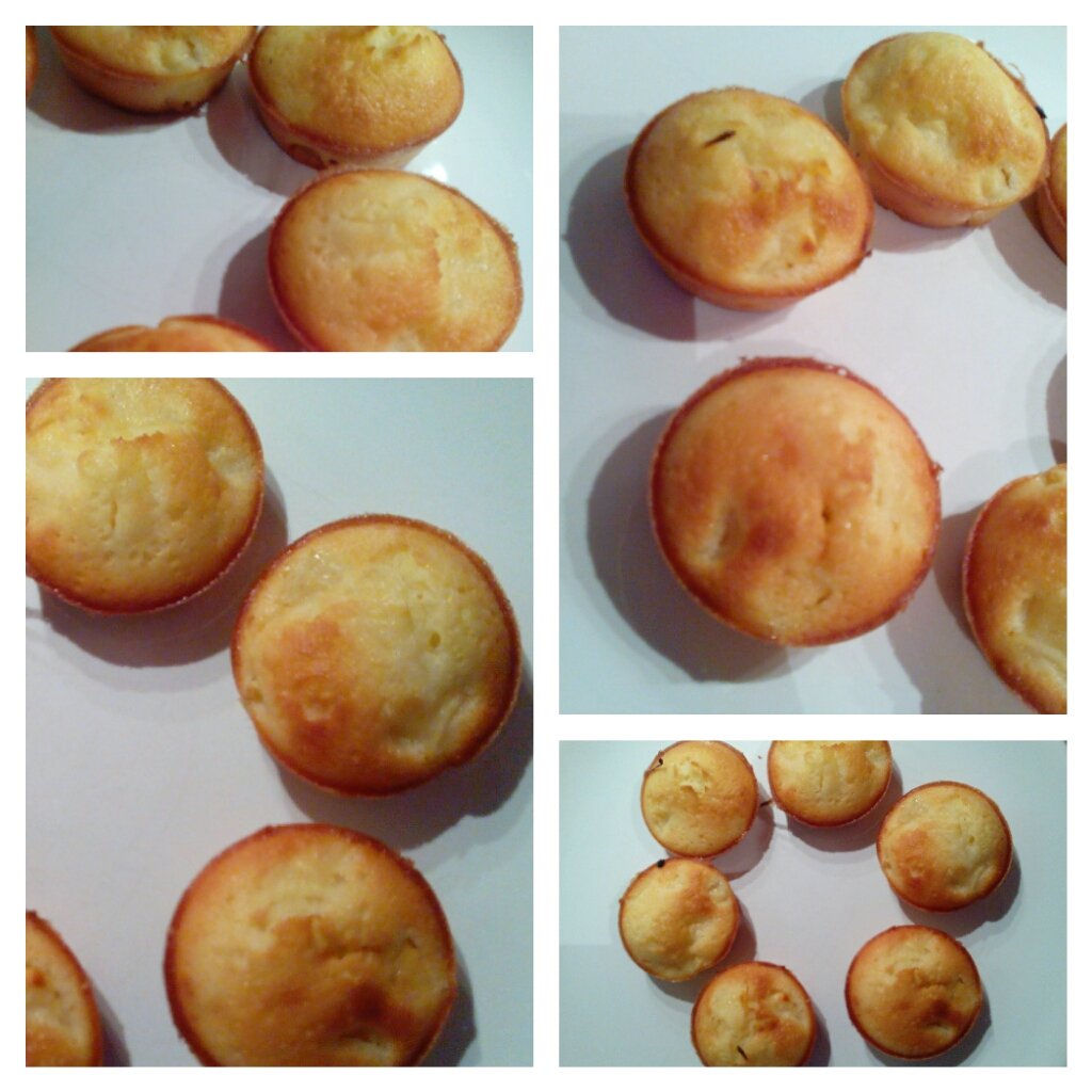Muffin moelleux aux pommes