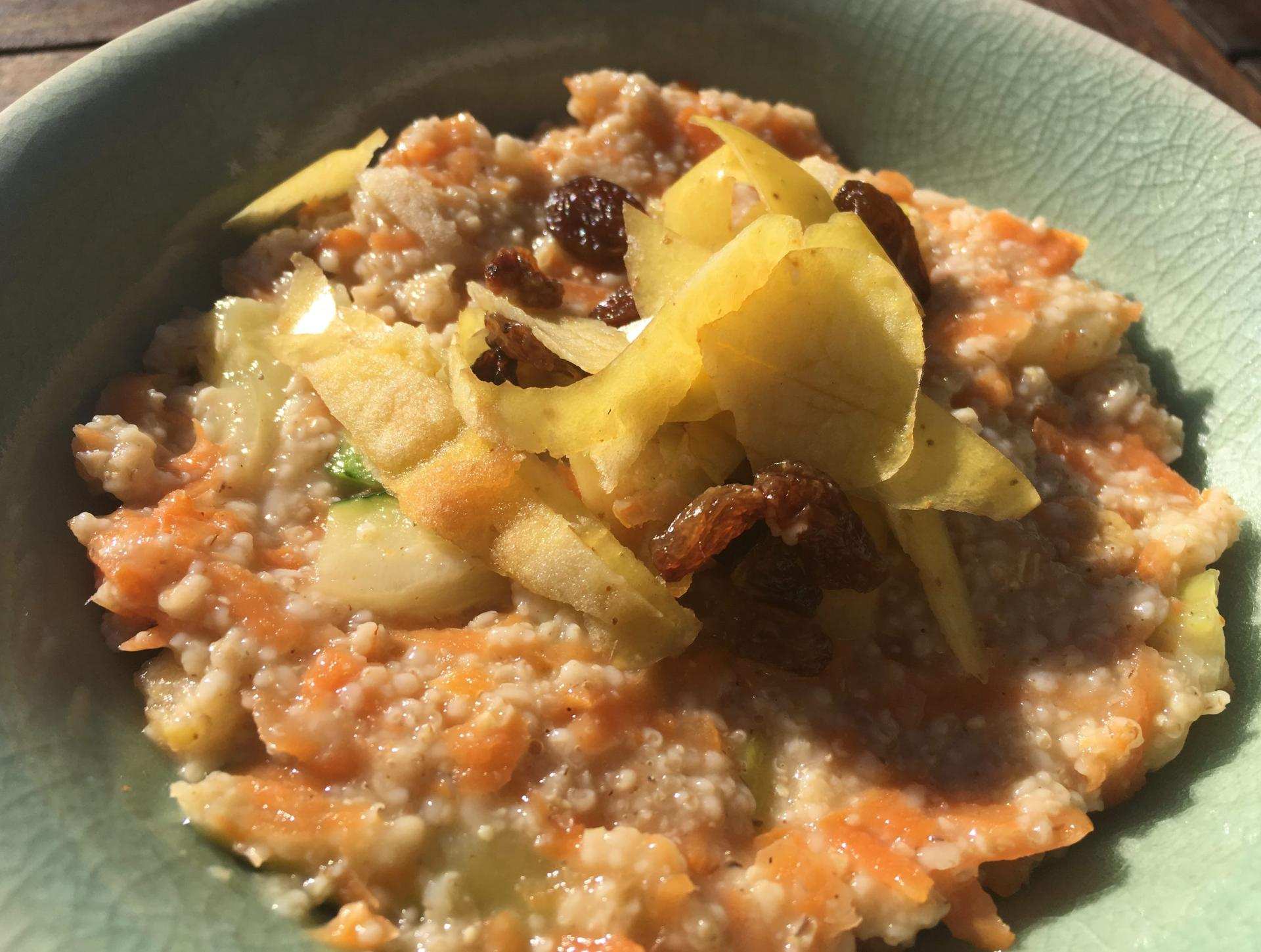 Porridge carrot cake2