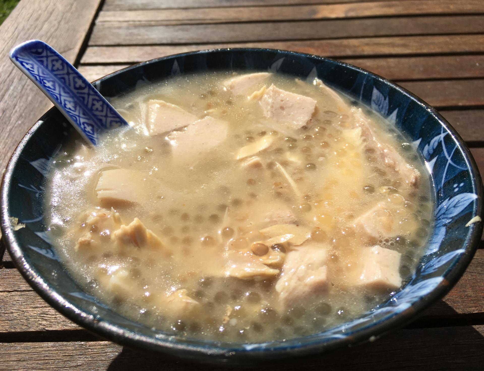 Soupe de perles de tapioca7
